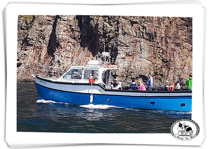 Boat from Teelin around Sliabh liag